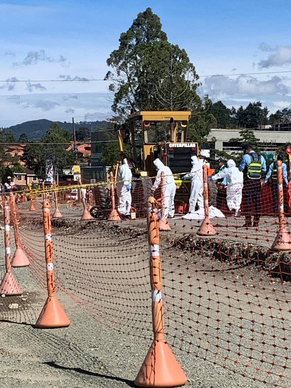 En Rionegro una mujer perdió la vida al ser atropellada por una maquina