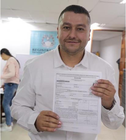 José Gildardo Hurtado inscribió su candidatura para la Alcaldía de Marinilla