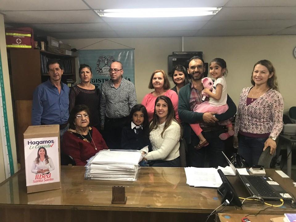 Ilbed Santa ya inscribió su candidatura a la Alcaldía de La Ceja