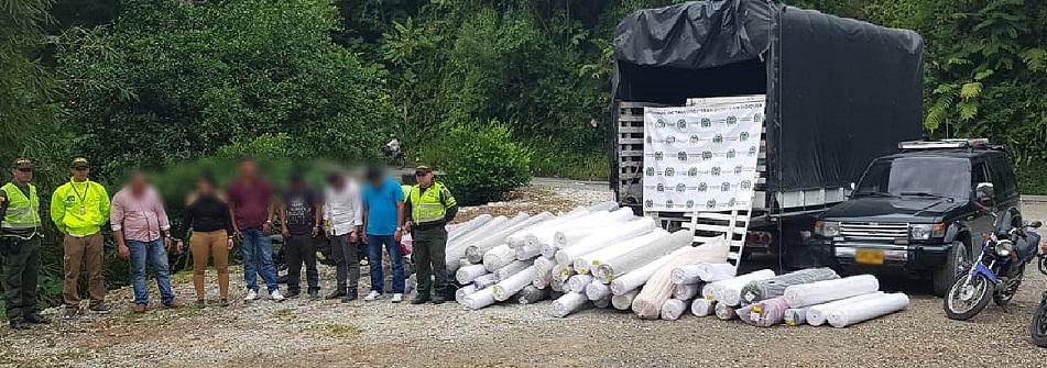 Desmantelan Banda dedicada a piratería terrestre en la Autopista Medellín – Bogotá