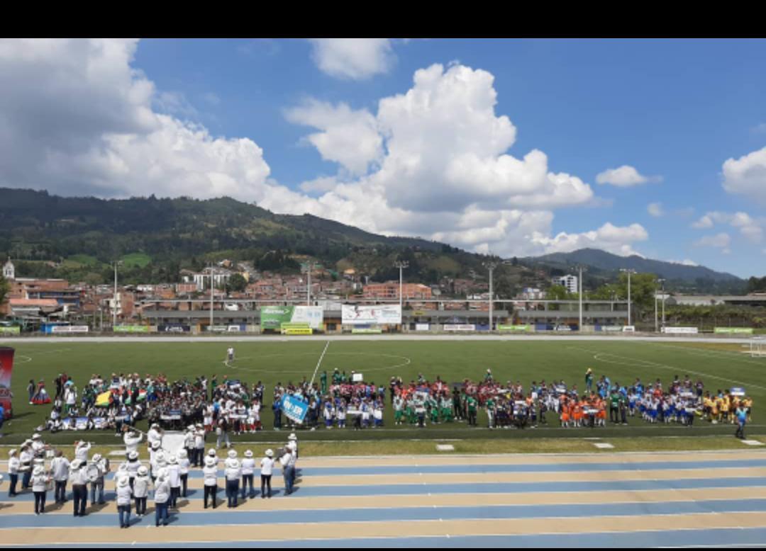 El Baby Fútbol Zonal Oriente da inicio en el municipio de Guarne