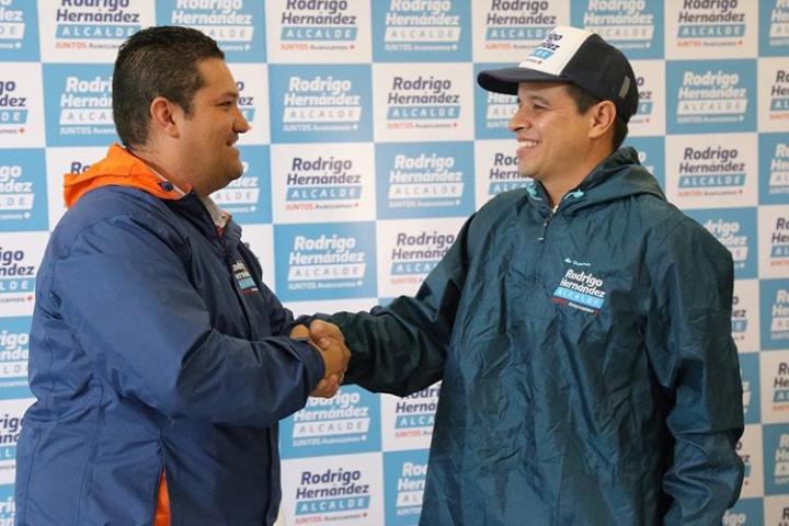 A la campaña de Rodrigo Hernández se unió ex concejal Juan Sebastián Castro