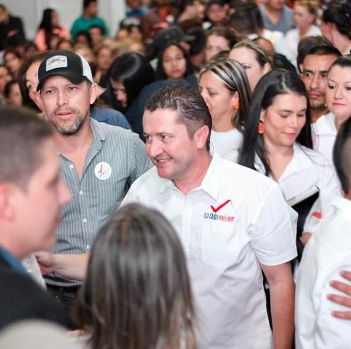 Candidato Alexander Tobón, invita a la comunidad cejeña a un encuentro masivo