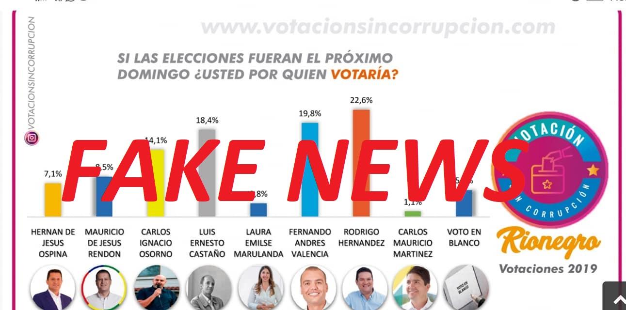 Difunden falsa encuesta de intención de voto en el Oriente