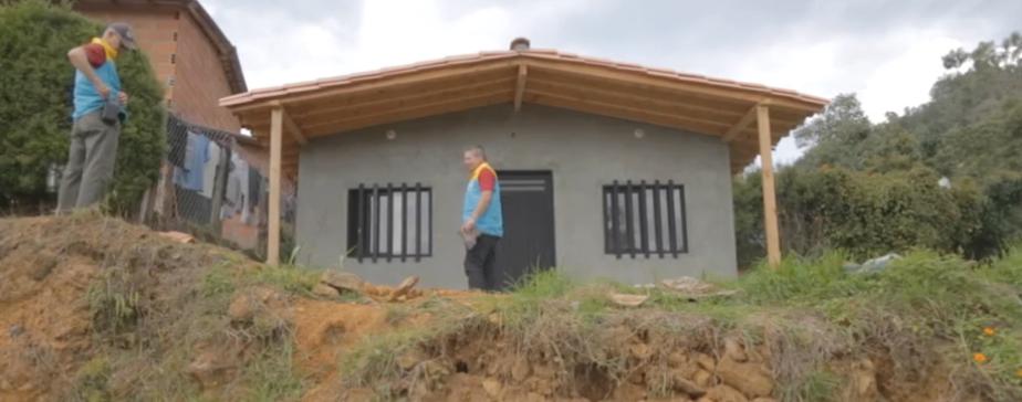 190 familias recibieron mejoramiento de vivienda en Guarne