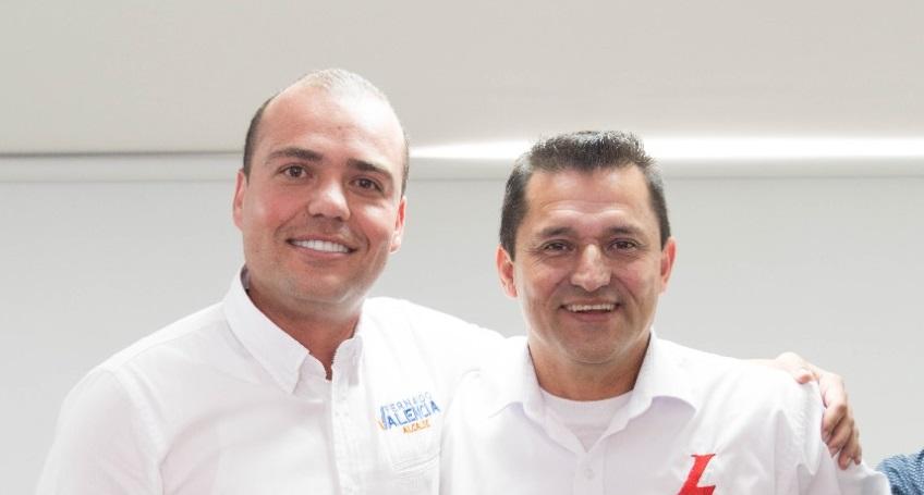 Anuncian alianza entre Fernando Valencia 'La Tola' y Hernán Ospina