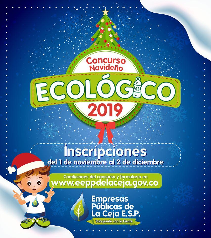 Abiertas las inscripciones para el Concurso Navideño Ecológico en La Ceja.