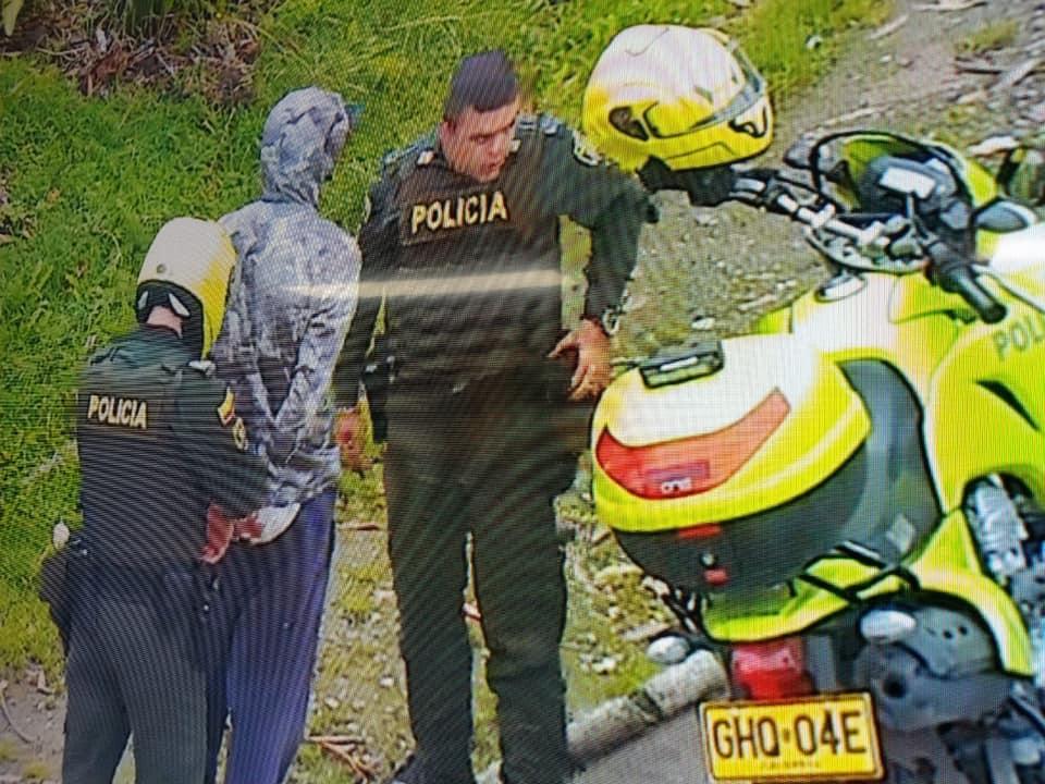 Capturan sujeto implicado en robo de bicicletas en La Ceja