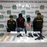 Capturados dos presuntos ladrones en La Ceja