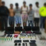 Capturados en Rionegro 5 venezolanos, entre los que estaría un cabecilla de Los Pamplona
