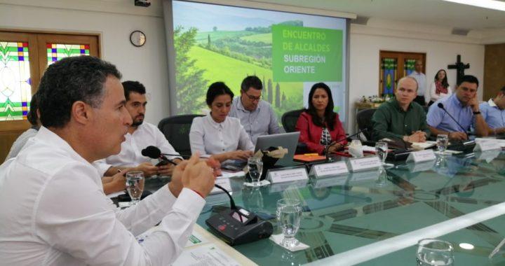 Alcalde de La Ceja propuso al Gobernador la construcción de un Parque del Río en La Ceja