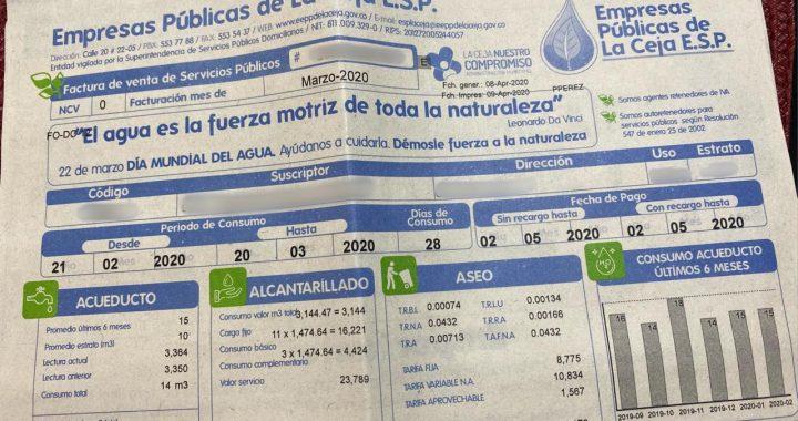 Empresas Públicas de La Ceja responde ante presuntas irregularidades en facturación