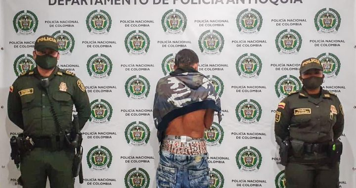 Capturaron presunto ladrón en Abejorral