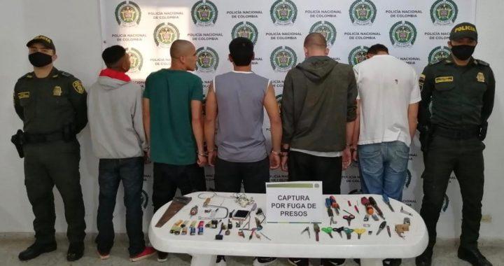 Dañaron una reja y se volaron de la cárcel en Abejorral