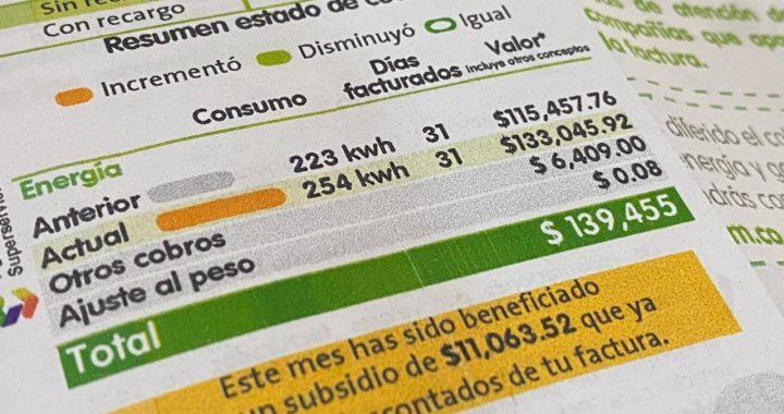 Vuelven y juegan las quejas por el aumento en la tarifa del servicio de energía de EPM