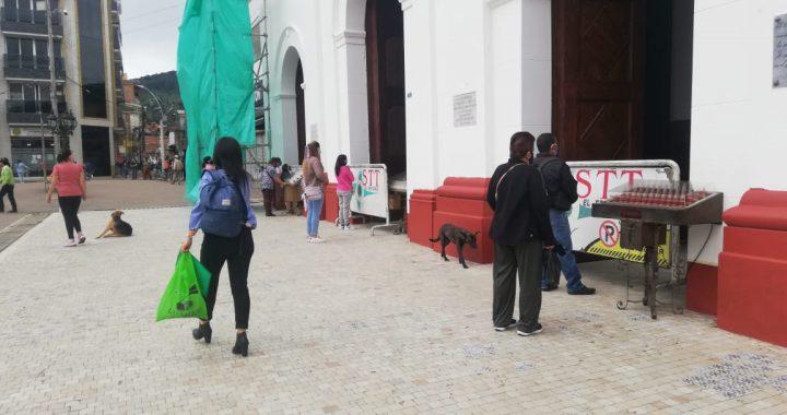 En El Santuario abrieron puertas de templos católicos pero no se podrá ingresar
