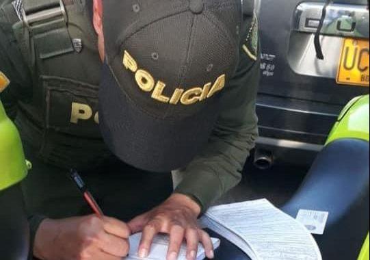 642 comparendos ha impartido la Policía Nacional en La Ceja desde que comenzó la pandemia