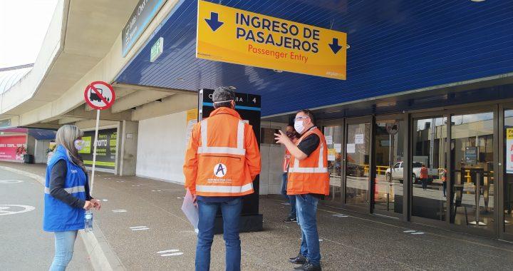 Para analizar posible reapertura del aeropuerto, director de Aerocivil estuvo hoy en Rionegro