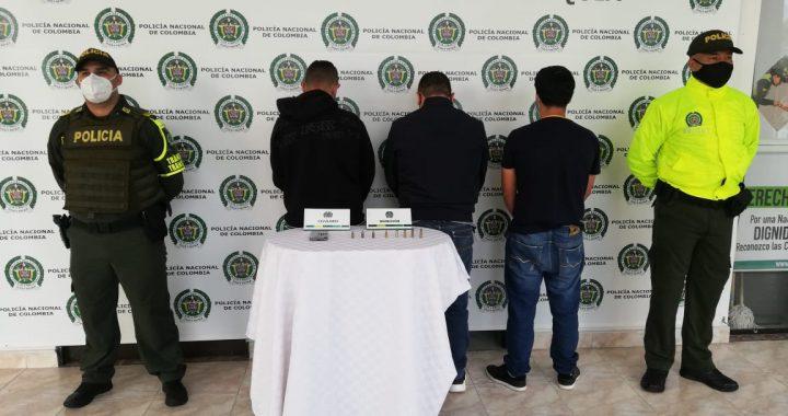 En Rionegro desarticulan presunta banda criminal dedicada al hurto de motocicletas