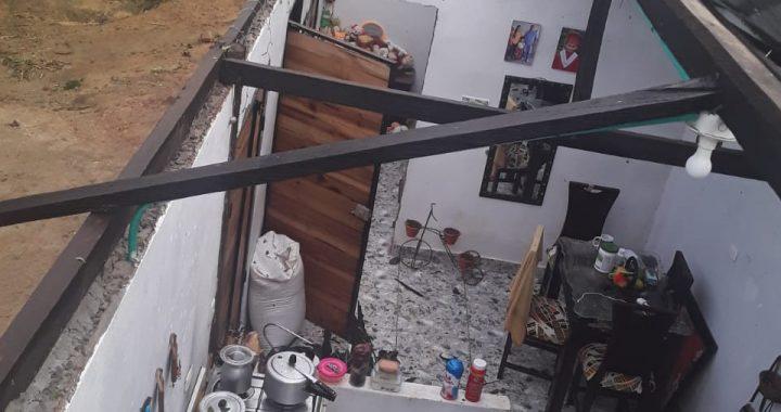 Vendaval en San Luis dejó más de 80 familias afectadas