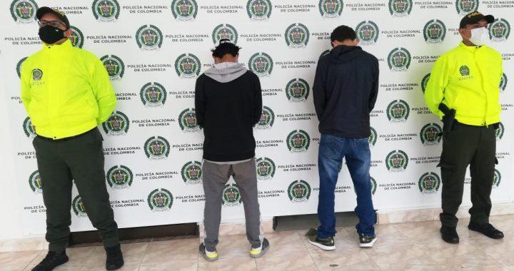 """Nuevo operativo en Rionegro logró la captura de 5 sindicados de pertenecer a la banda delincuencial """"Los 38""""."""