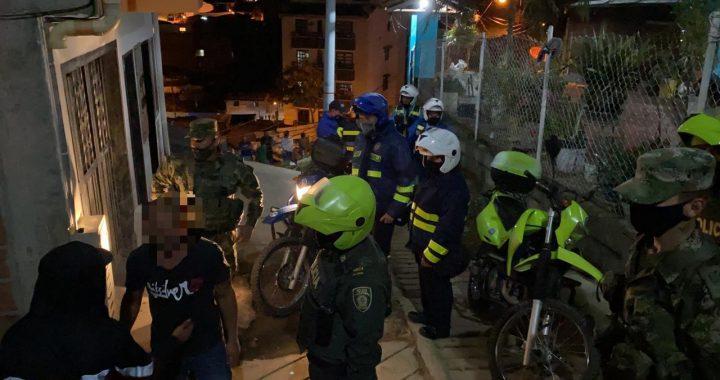 En Marinilla realizaron 30 comparendos por infringir la cuarentena y 29 multas de tránsito el fin de semana