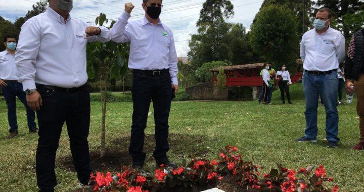 Gobernador (E) de Antioquia Luis Fernando Suárez visitó el municipio de Rionegro