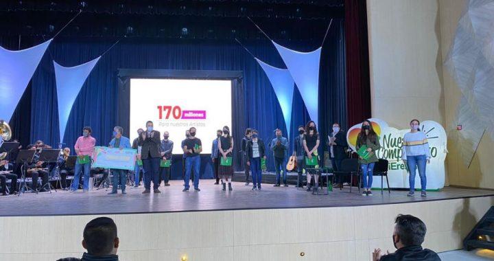Entregan premios por más de 170 millones de pesos a artistas de Marinilla