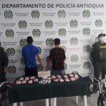 Más de dos kilos de marihuana y otros estupefacientes incautados en operativo en El Retiro