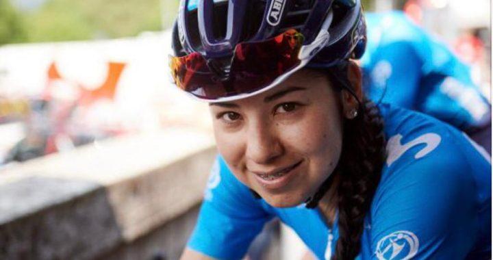 ¡Histórico! Paula Patiño, ciclista de La Ceja ingresó al top 10 del Giro Rosa 2020