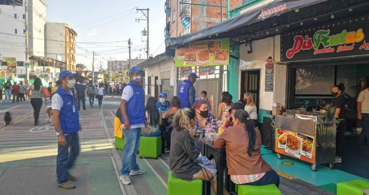 No irá más la atención de mesas en el espacio peatonal de San Antonio de Pereira