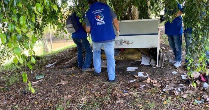 Continúan operativos de desmantelamiento de construcciones ilegales en Rionegro