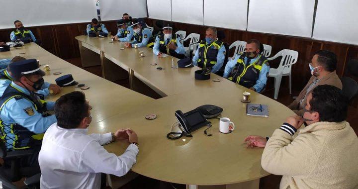 """""""No toleraremos más hechos de corrupción ni desorden administrativo"""", le dijo el Alcalde de Rionegro a los agentes de tránsito"""