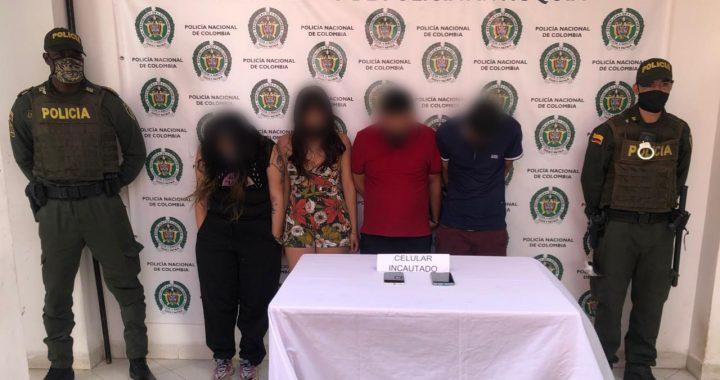 Operativo de la Policía Nacional logró la captura de 10 delincuentes sindicados de diferentes delitos en El Santuario