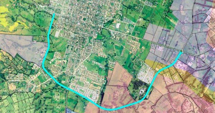 Avanza firme el proyecto de pavimentación de la Circunvalar Sur en La Ceja