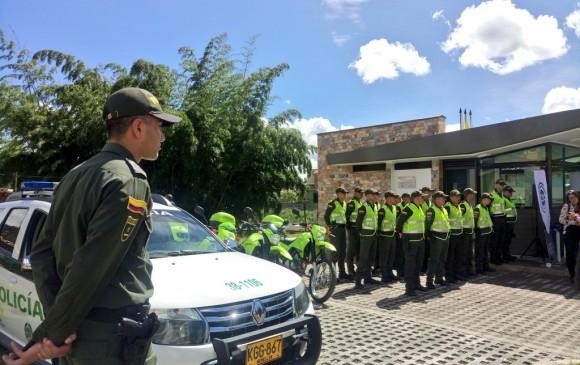 Este año se hará la entrega de nuevos CAI de Policía en Rionegro