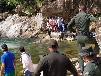 ¡Tragedia en los charcos de Calderas! dos personas murieron ahogadas