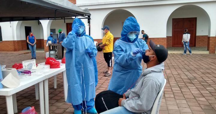 De 70 pruebas antígeno hechas en San Cayetano, 15 dieron positivas