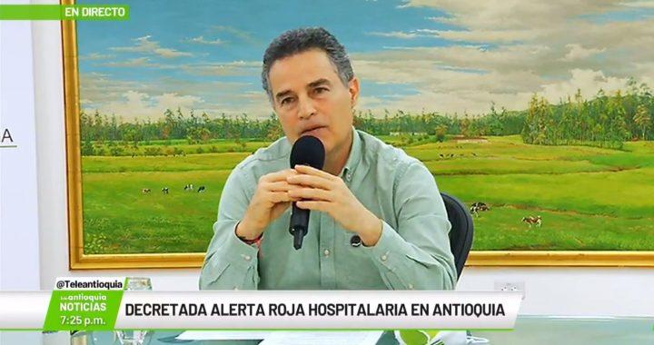 Por segunda vez este año, Antioquia declaró Alerta Roja Hospitalaria