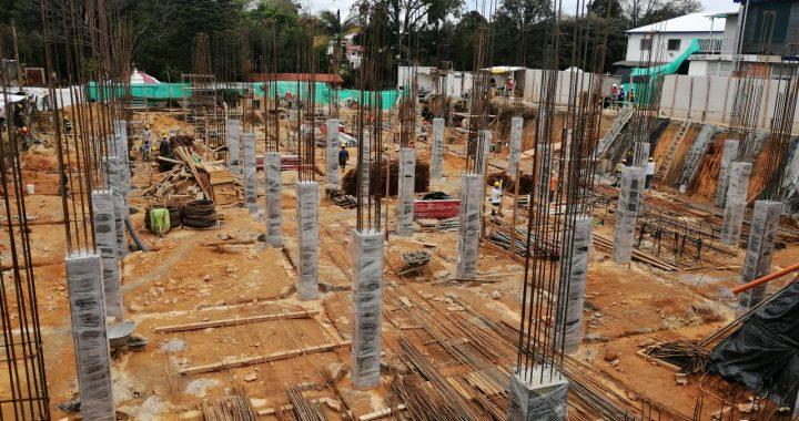 La nueva sala de urgencias del Hospital de Rionegro se encuentra en un 20% de su construcción