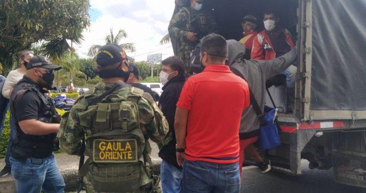 """En Rionegro desarticularon organización delincuencial al servicio de """"Los Chatas"""""""