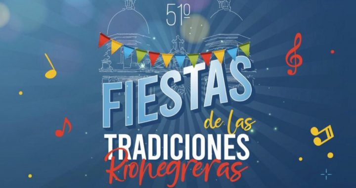 La versión 51 de las Fiestas de las Tradiciones Rionegreras este año serán virtuales