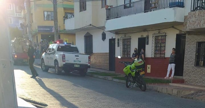 Balacera en El Carmen de Viboral dejó un muerto y un herido