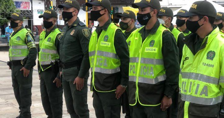 Llegaron nuevos efectivos de la Policía a La Ceja