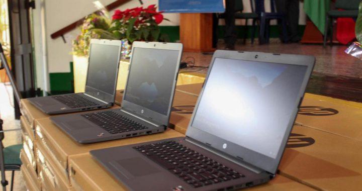 600 millones de pesos en 354 computadores para la Institución Educativa La Paz