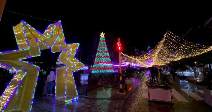 En La Ceja, los alumbrados navideños se apagarán a las 8:00 p.m. desde hoy