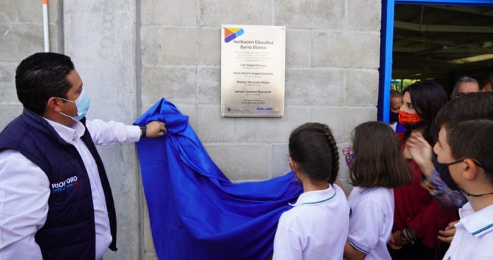 Más de mil estudiantes de Rionegro podrán ir a clases en una nueva institución educativa