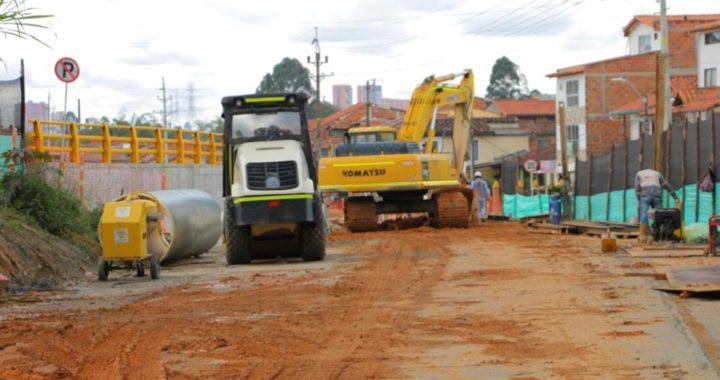 Avanzan de manera satisfactoria las obras de modernización vial en Rionegro