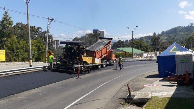 Gobernación de Antioquia adelanta rehabilitación de la doble calzada Las Palmas
