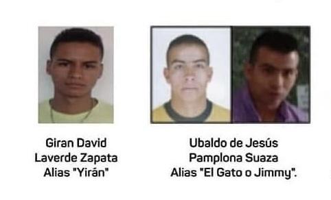 En Rionegro están ofreciendo hasta 50 millones de pesos para capturar a los dos delincuentes más buscados